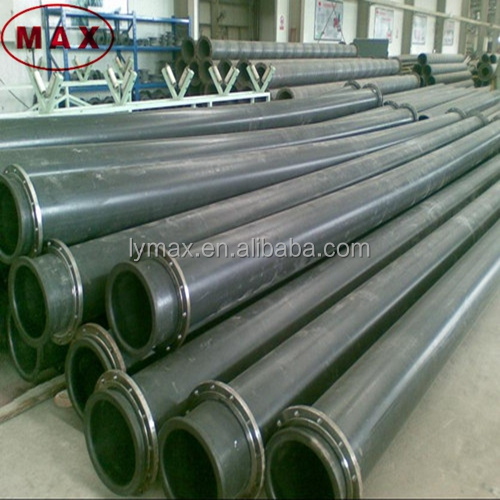 Wear Resistant UHMWPE pipes used to transport mining tailings