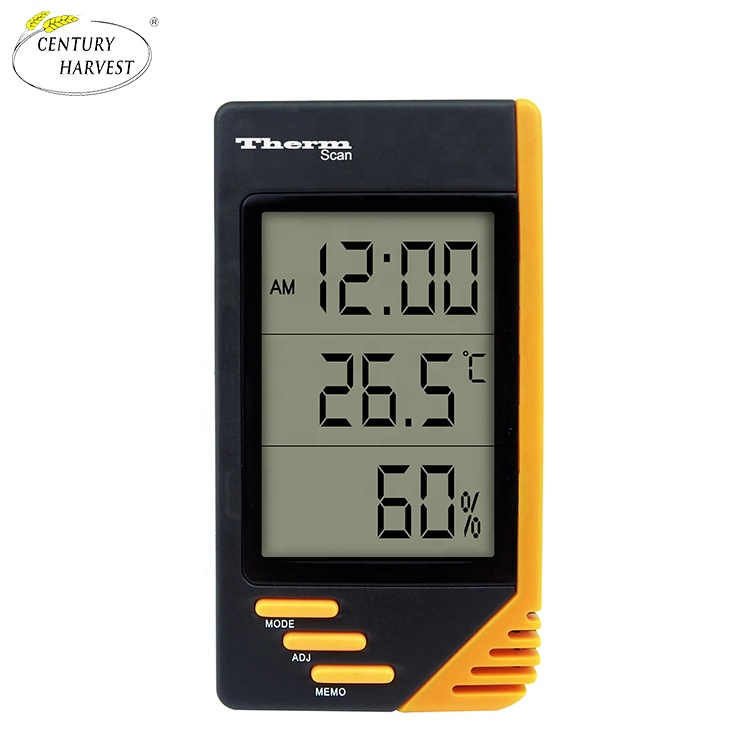 S-WS07 Manufacture <strong>Provided</strong> Digital Thermometer Outdoor Indoor Temperature Thermometer Humidity Thermometer OEM&amp;ODM Supporting