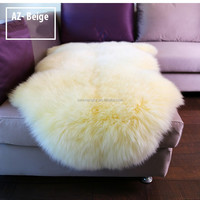 Wholesale Contemporary Modern Designs leather Natural colour 100% Wool Carpets