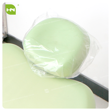 Disposable dental transparent plastic chair headrest covers