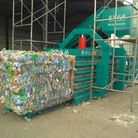 Horizontal Semi Automatic Waste Paper Hydraulic