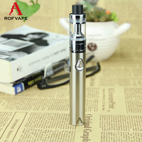 Stainless Steel Pipe Vape Pen Vaporizer With Rba Tank Electronic Cigarette With Fast Shipping