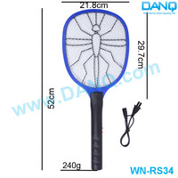 Electric Swatter, WN-RS34 LED light electric insect zapper with cord