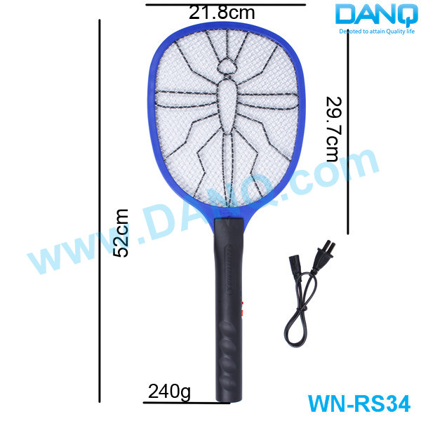 WN-RS34 Raquette Anti-Mosquito LED Light Electronic Insect Killer For Pest Control