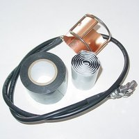 "Click-on Type Grounding Kits For 1/2"",7/8"",1-1/4"",1-5/8"" Feeder Cable"