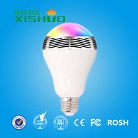 smart led bulb light RGBW Smart Bulb Wireless 2400 lumen led bulb light charge with aluminum body and plastic cover