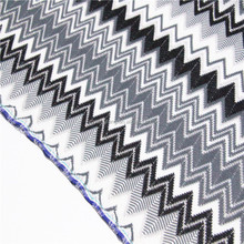 2017 classic black and white mesh knitting lace for dress or garment