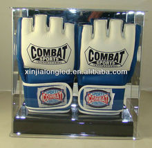 Acrylic Glove Display Case Double UFC MMA Fight Glove Wall Mountable Display Case