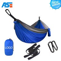 Best Choice Products Double Swing Hammock Chair with Steel and Straps