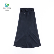 Fashion design young hot girls long skirt