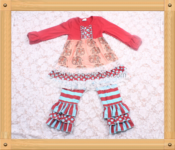 Yowo Cheap Newborn Baby Clothing Set Hotpink Quatrefoil Children's ...