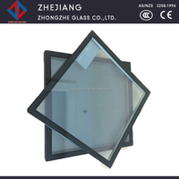 Low U value double glass glazing for commercial building with competitive price