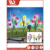 New Innovative Products Garden Stake Metal Solar Light