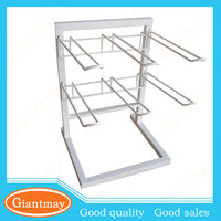 u shaped hook hanging small accessory counter display wire rack