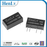 CCTV power supply Unregulated S05HS05-2W 3000V Isolation dc/dc converter