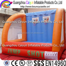 Outdoor Interactive Game Inflatable Basketball Hoop Basketball Shooting
