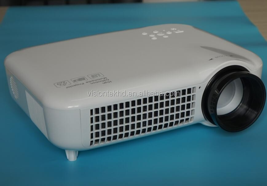 Visiontek Factory 3500lumens 1080p full hd led projector/daylight projector