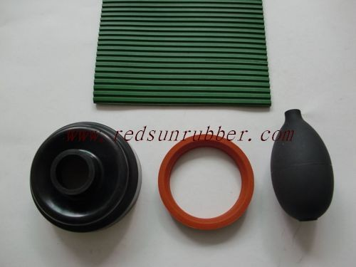 High Temperature Raw Silicone Rubber Products