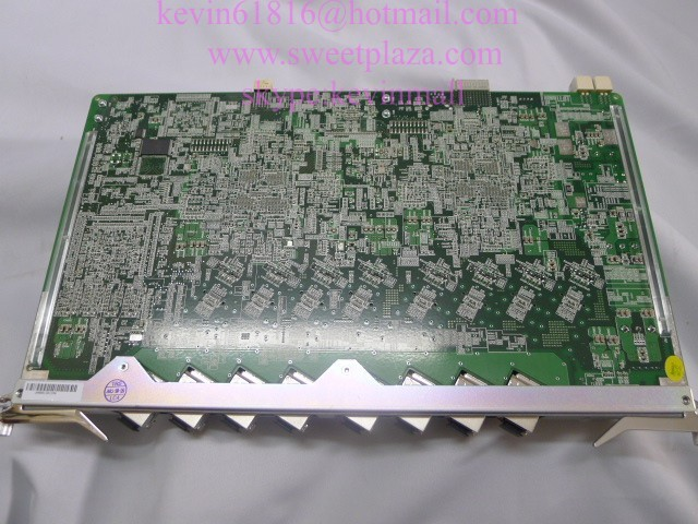 Original ZTE ETTO 10G high speed EPON 8 ports board with 8 EPON modules, for OLT C300 C320