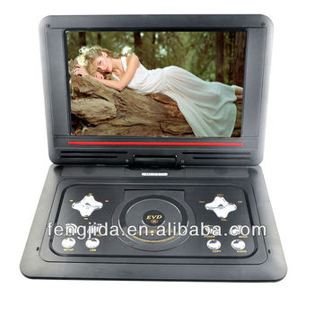 rotate and flip13.3 inch big screen car home portable dvd