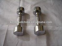chromed dumbbell sets