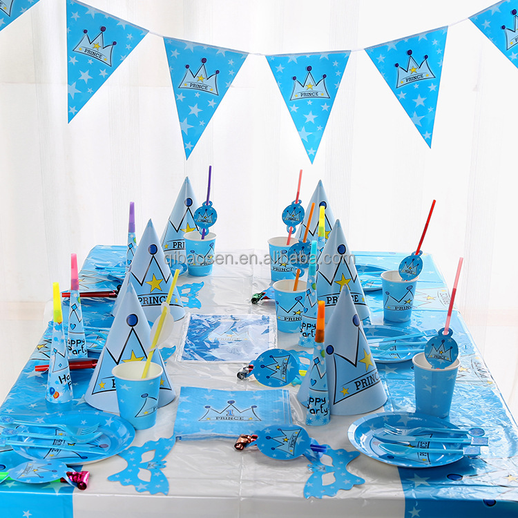 party decorations birthday theme set-cartoon birthday party kids birthday party supply set