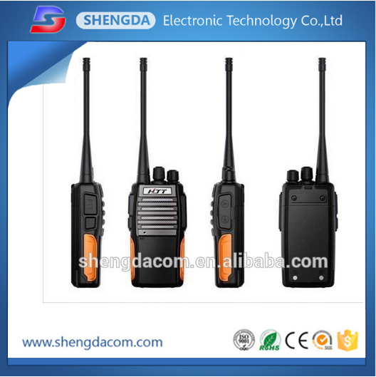 VHF UHF dual band 5-10km 16 channels handheld two way radio/walkie talkie transceiver for radio amateur