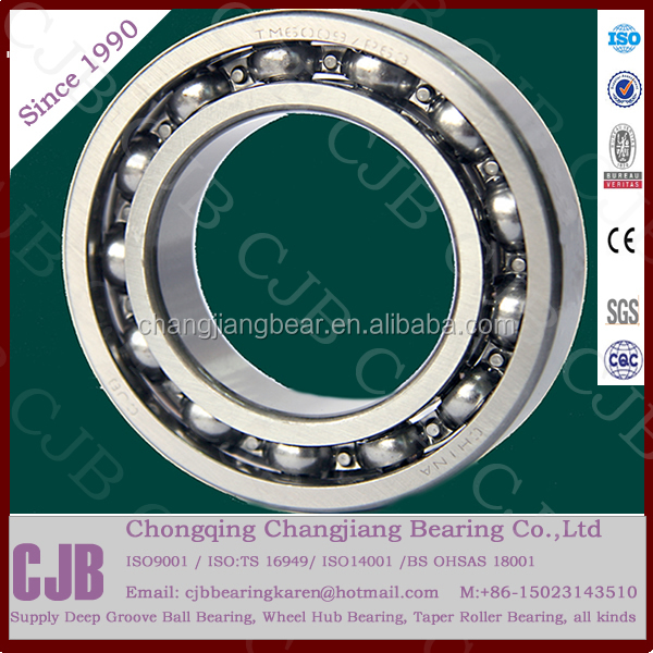 CJB Bearing 6004 2rs ZZ ball bearing supplier 20x47(42)x12 20x47x17