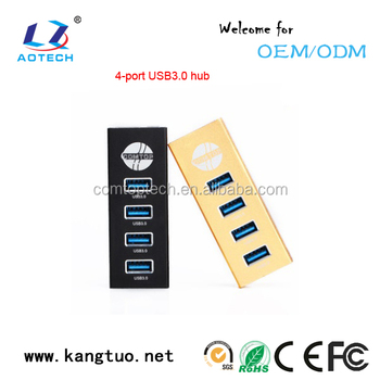 high quality 4 ports USB HUB, 3.0 hub usb Combo card reader driver