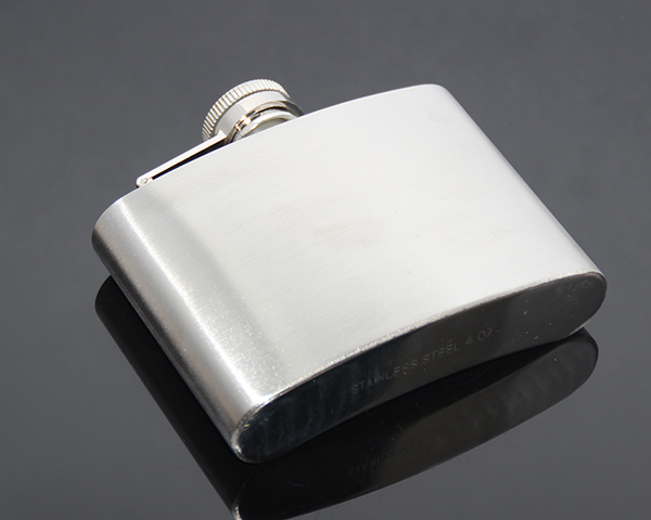 4oz Portable Flagon Kettle Oilcan Wine Pot 110ML Metal Travel Pocket Mini Liquor Stainless Steel Hip Flask
