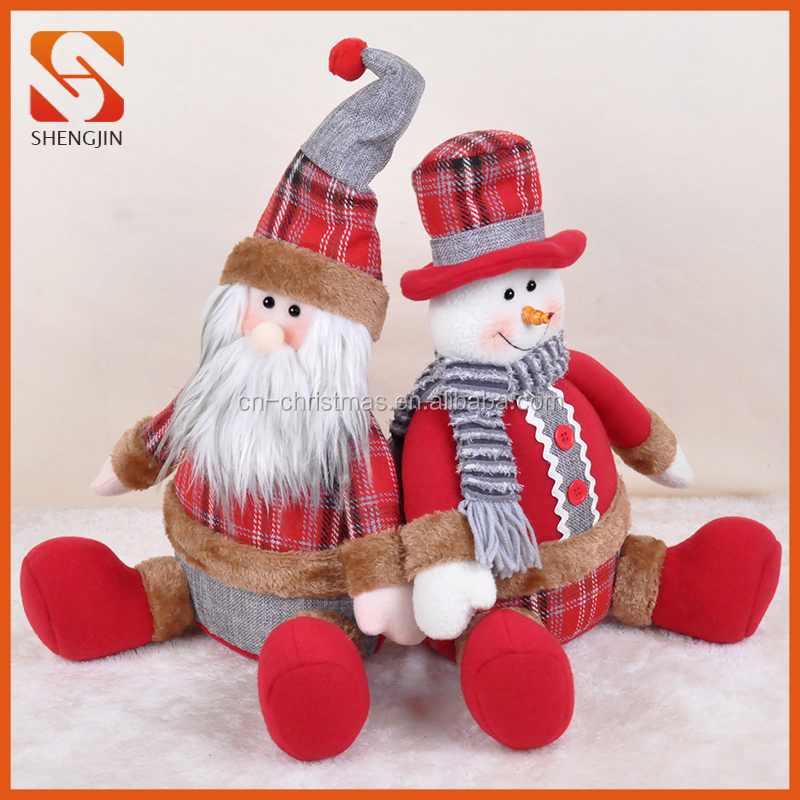 The Christmas Toy Xmas Decoration Doll Festive Home Party Decor Ornament Craft