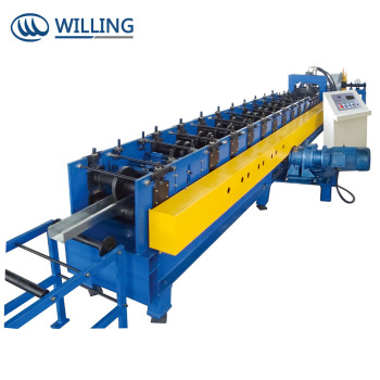 Customized C Z U shape purlin roll forming  machine with high quality