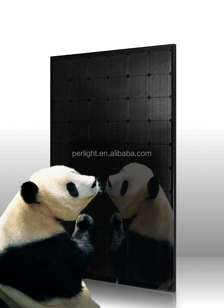 High efficiency monocrystalline silicon 250W pv solar module all black