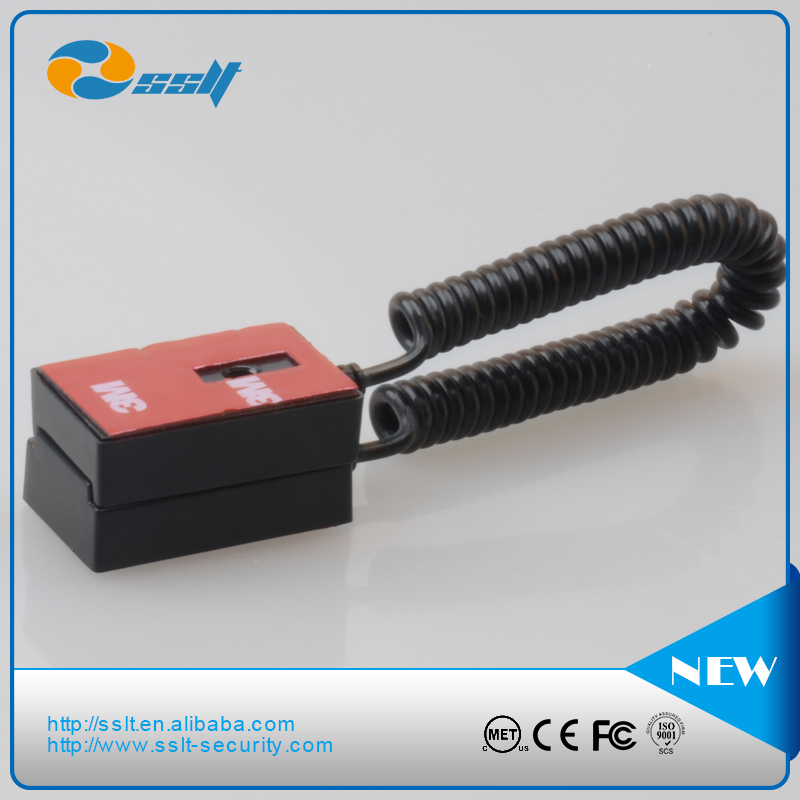 Good quality Mobile Phone Anti-theft cable recoiler retail security cables