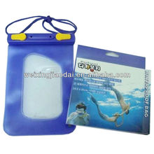 100% waterproof bag for cell phone and camera wallet colletting diving bag