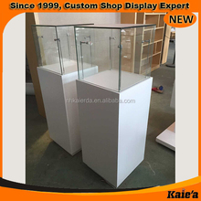 Guangdong factory wooden used jewelry kiosk for mall