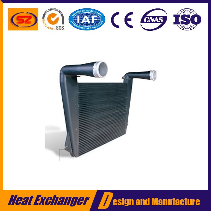 bar and plate intercooler turbo