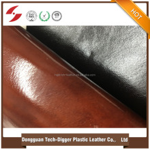Hot sale pvc leather synthetic leather fabric for making sofa/chairs