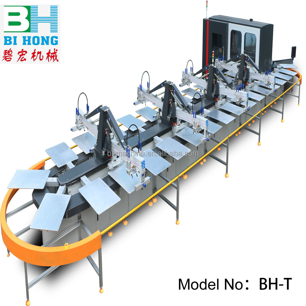 No Complaint garment silk fast speed oval screen printing machine