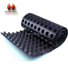 8mm waterproof green roof hdpe plastic dimple drainage board