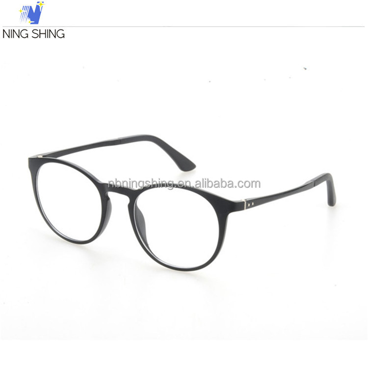 2016 New Product Black Frame Color High Quality Optical Glasses