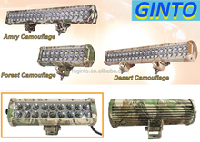 super cool amry/forest/desert camouflage 144W LED light bar for UTV,Offroad,Jeep,Truck,SUV,4WD,Car