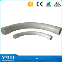 YOUU Australian Standards White Or OEM Color 50mm Long Tube Telstra Bend Elbow Fittings