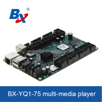 BX-YQ1-75 asynchronous full color control card with lowest price hotsale led modules controllers