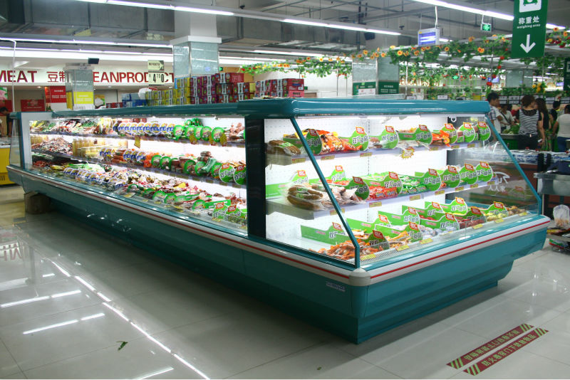 supermarket cooler,fruit display cooler,beverage cooler