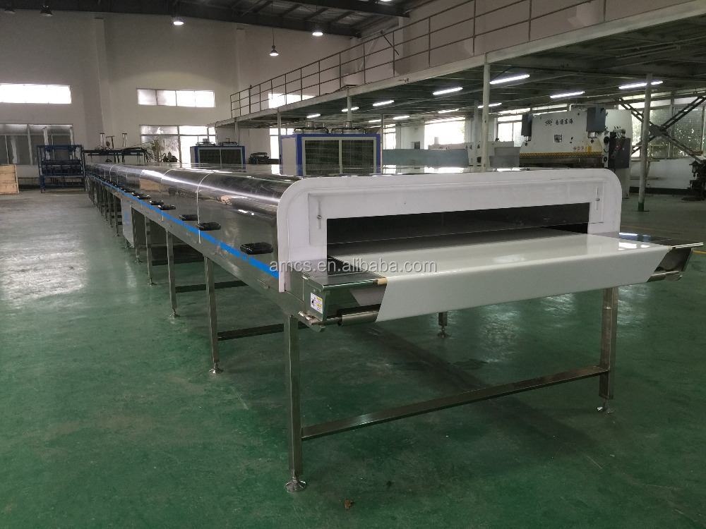 Sterilizing Full Automatic GMP Guidelines whitening cream Cooling Tunnel Machine