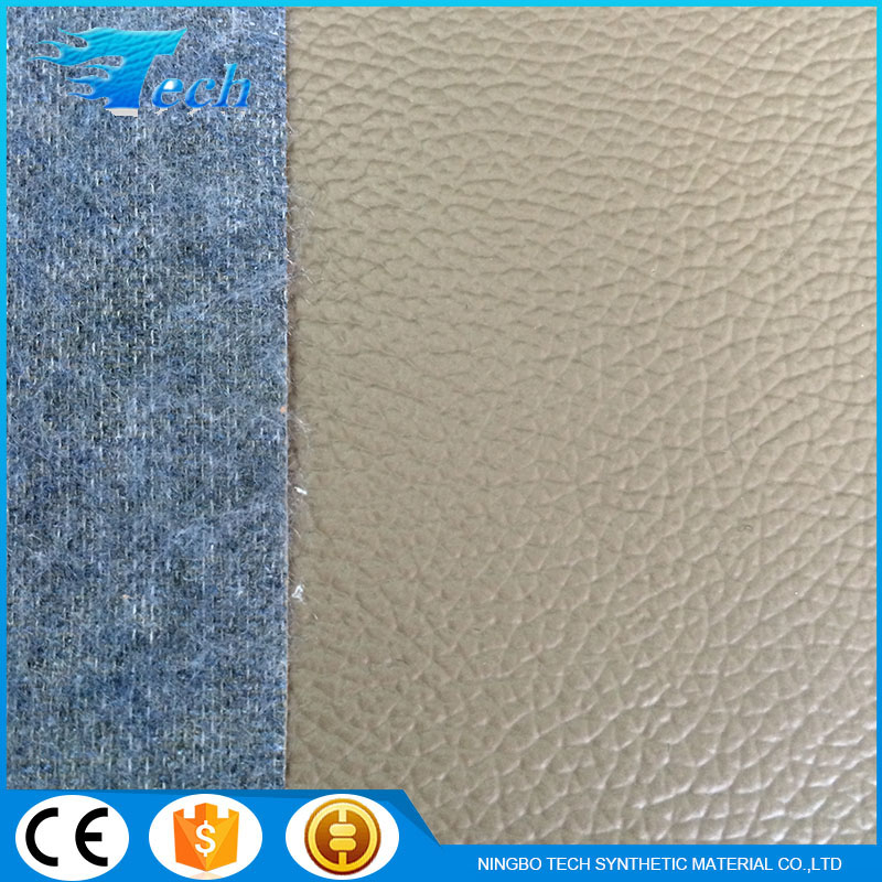 Top Products Hot Selling New 2016 Pvc Artificial Leather For Sofas Car Seat Embossed Surface PVC Artificial Leather