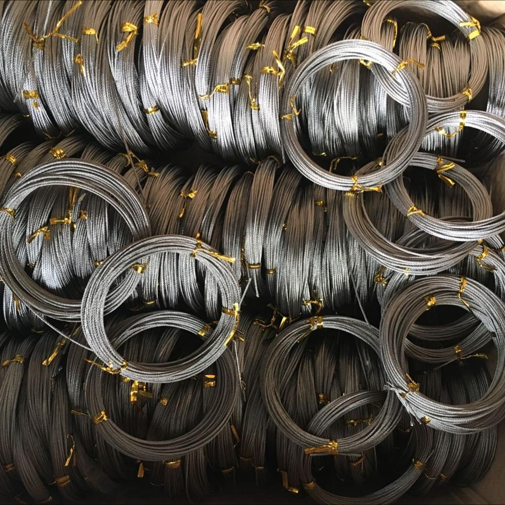 7*7 stainless steel wire rope