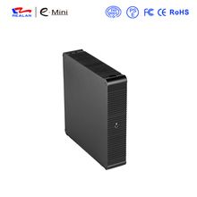 Realan new products E-N44 Thin Mini ITX Case with adapter
