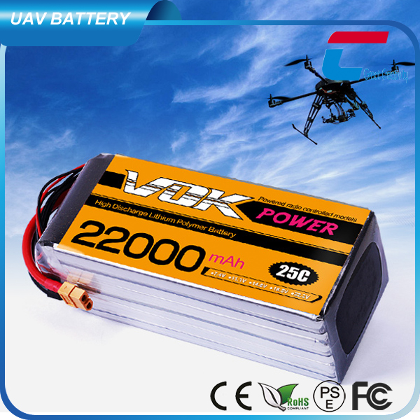25C 22000mAh 5 Cell Lipo <strong>Battery</strong> 18.5V for RC Planes